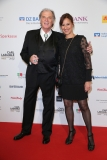 LAUPHEIM, GERMANY - MARCH 15: Wolfgang Fierek and his wife Djamila Mendil during the 3rd Carl Laemmle Producer Award ( Produzentenpreis ) at Kulturhaus Laupheim on March 15, 2019 in Laupheim, Germany. (Photo by Gisela Schober/Getty Images for Carl Laemmle Producer Award)