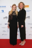 LAUPHEIM, GERMANY - MARCH 15: Larissa Marolt, Melanie Wiegmann during the 3rd Carl Laemmle Producer Award ( Produzentenpreis ) at Kulturhaus Laupheim on March 15, 2019 in Laupheim, Germany. (Photo by Gisela Schober/Getty Images for Carl Laemmle Producer Award)
